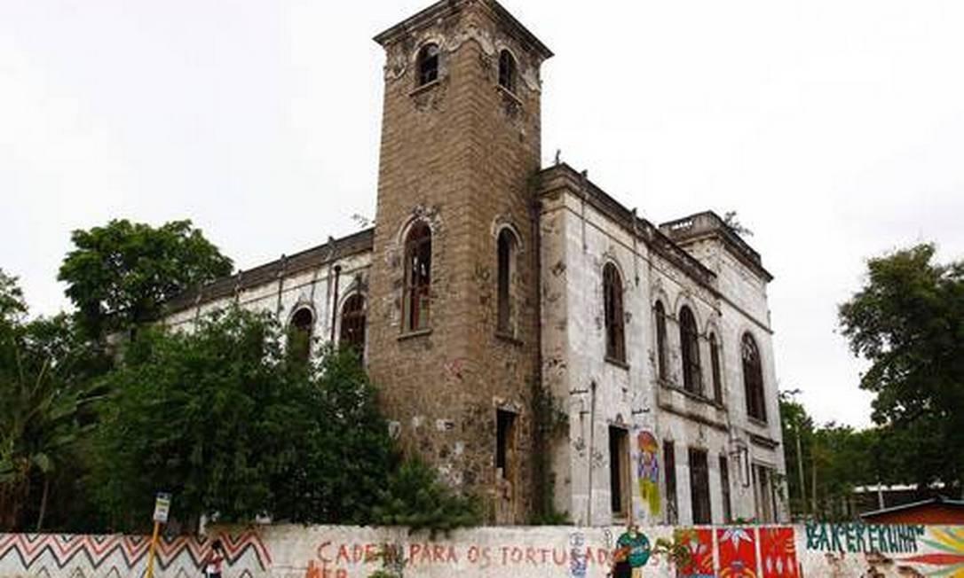 Antigo Museu do Índio, no Maracanã, na Zona Norte do Rio, onde será construído o Museu do COB. Foto de arquivo Foto: Pablo Jacob / O Globo