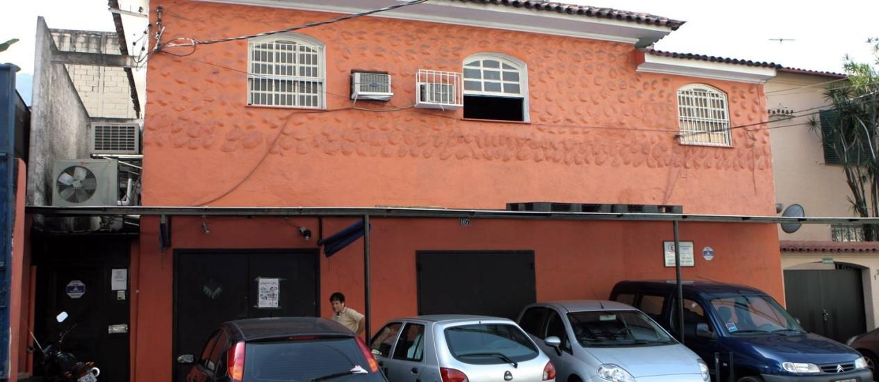 """""""Casa da Matriz"""", em Botafogo, funciona sem alvará Foto: Ricardo Leoni / Ricardo Leoni/03-09-2008"""