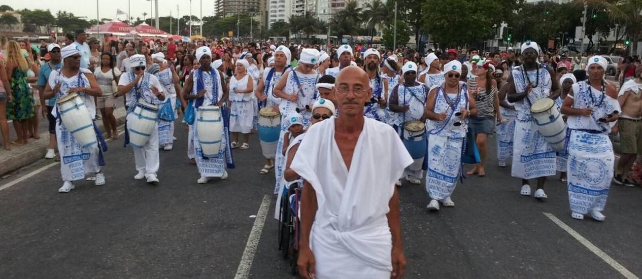 Afoxé Filhos de Gandhi desfila no dia 10 de fevereiro a partir das 16h, em Copacabana Foto: Arquivo Afoxé Filhos de Gandhi / Divulgação