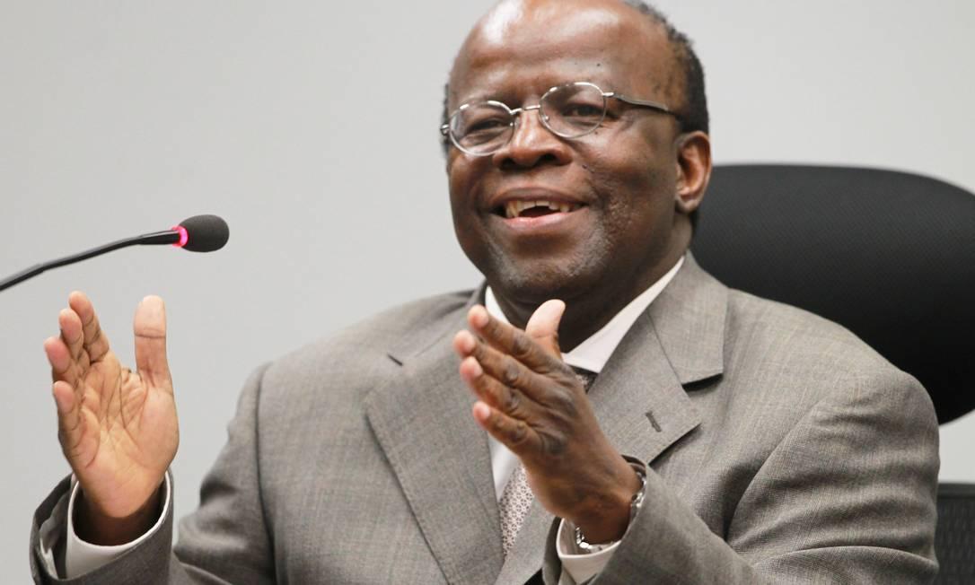 Joaquim Barbosa, presidente do STF Foto: Ailton de Freitas / Agência O Globo