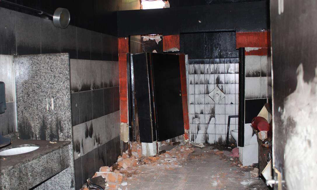 Imagens revelam como ficou a boate Kiss após o incêndio Divulgação / Polícia Civil