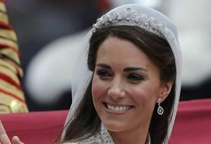 Kate Middleton em seu casamento com o príncipe William em 2011 Foto: Paul Hackett / REUTERS