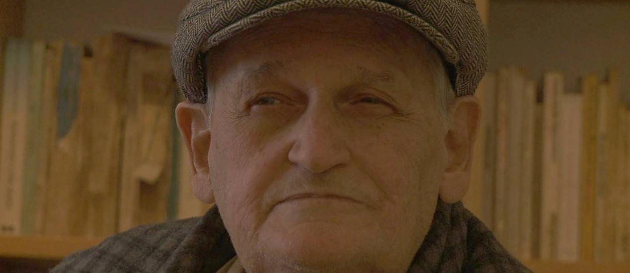 Carlos Henrique Escobar. Aos 79 anos, filósofo é homenageado com documentário Foto: Divulgação