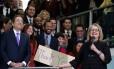 Hillary Clinton deixa a secretaria de Estado americano após ter viajado para 112 países