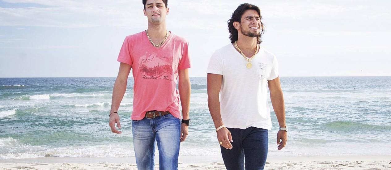 Munhoz e Mariano Foto: Leonardo Aversa