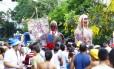 Desfile do Bloco da Ansiedade, em 2013, homenageando Luiz Gonzaga