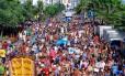 RI 02/02/2013 - Bloco Simpatia É quase amor, em Ipanema. Foto Pedro Kirilos / Agencia O GLobo