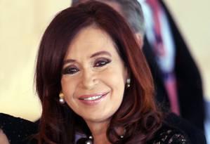 Cristina Kirchner atacou FMI após censura contra estatísticas da Argentina Foto: Gustavo Miranda / Agência O Globo