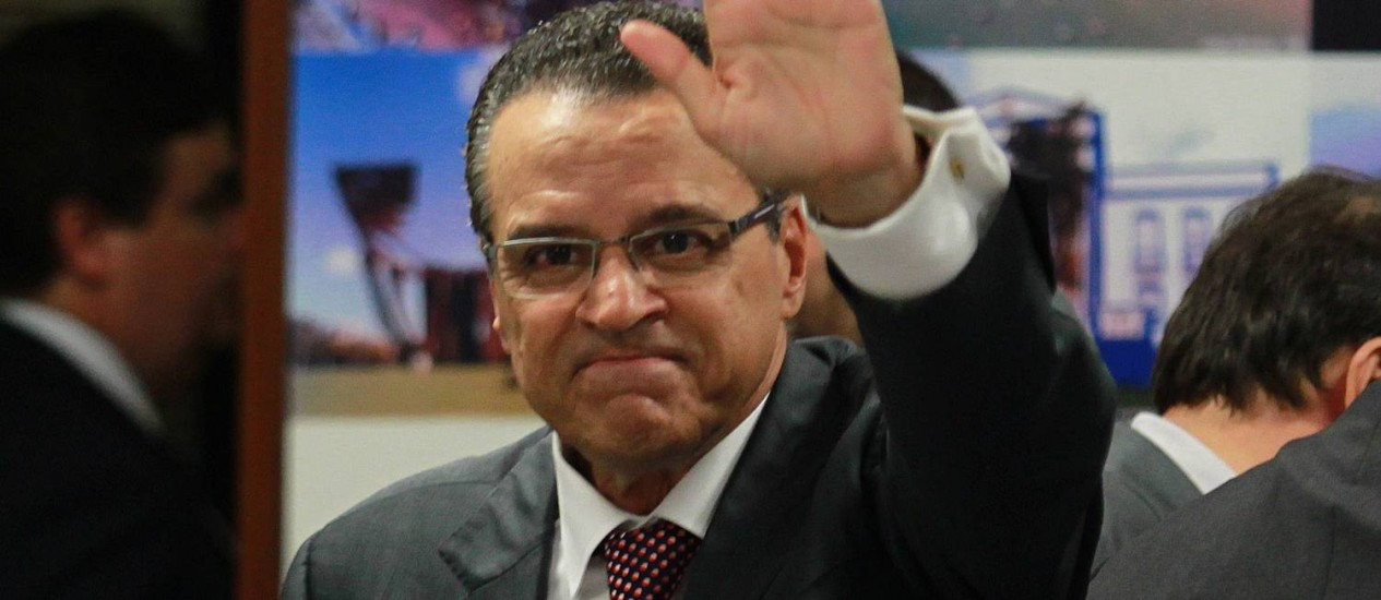 Henrique Eduardo Alves (PMDB-RN) é eleito para a presidência da Câmara Foto: Ailton de Freitas / O Globo