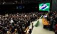 Cerimônia de abertura 54ª legislatura de 2013