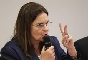 Graça Foster, presidente da Petrobras Foto: André Coelho/18-09-12