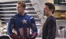 """Chris Evans e Robert Downey Jr., de """"Os vingadores"""", se encontrarão no palco do Oscar Foto: Divulgação"""