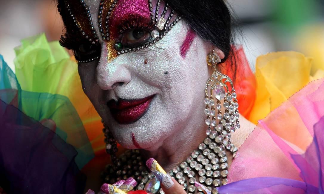 Isabelita dos Patins é uma das personagens que tornam o carnaval do Rio inesquecível Foto: Rafael Moraes