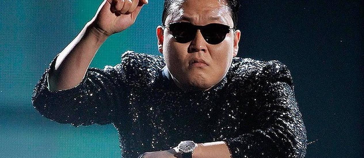 O rapper coreano Psy, famoso pelo hit 'Gangnam Style' Foto: Divulgação