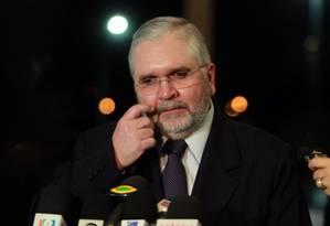 Procurador-geral da República, Roberto Gurgel Foto: Gilvado Barbosa / Agência O Globo