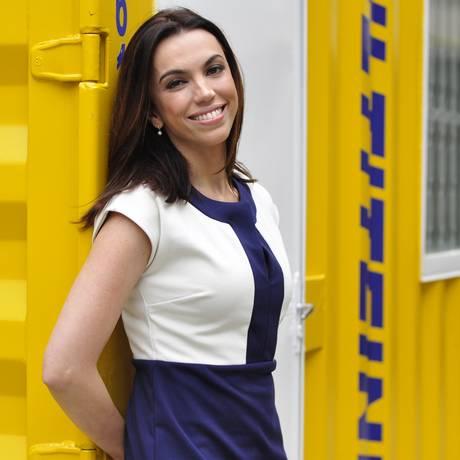 A apresentadora Ana Paula Araújo Foto: TV Globo/Divulgação