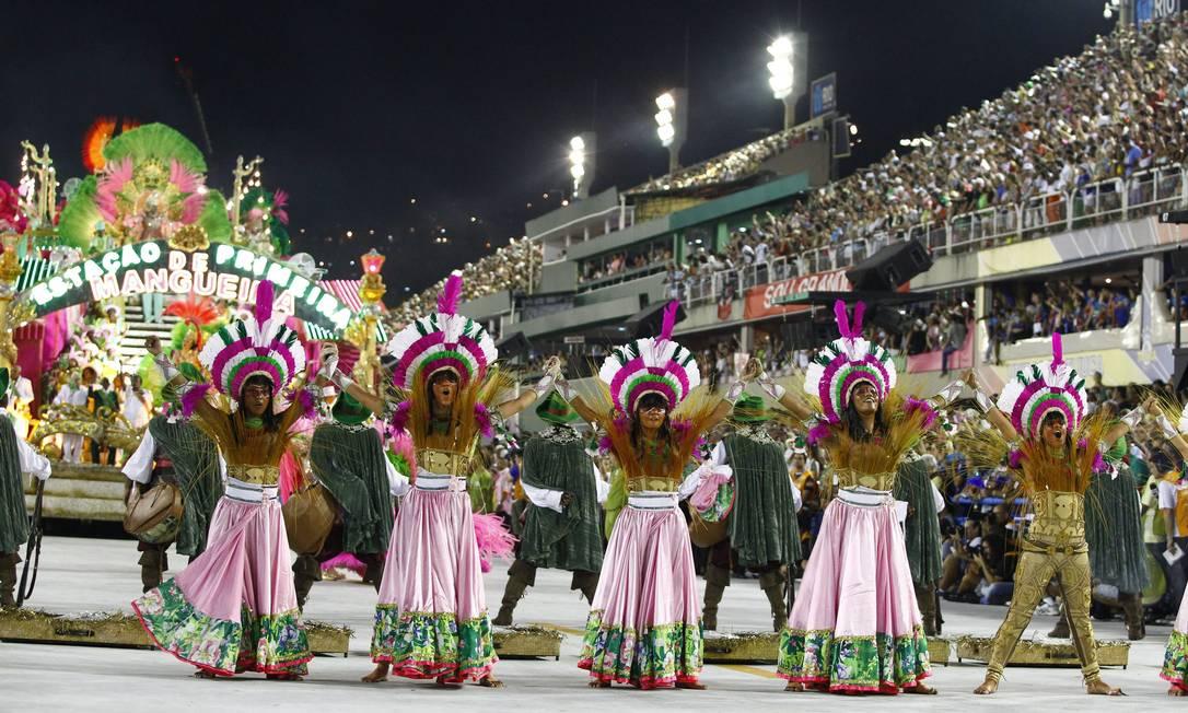 RI Rio de Janeiro (RJ) 11/02/2013 Carnaval 2013 - Desfile das escolas de samba do Grupo Especial - Mangueira - Foto Pablo Jacob / Agência O Globo Fabiano Rocha / Agência O Globo