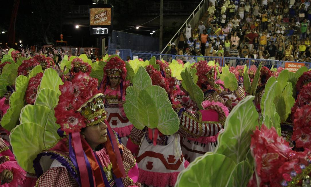 Rio de Janeiro (RJ) 11/02/2013 - Carnaval 2013 - Desfile do Grupo Especial , Vila Isabel. Foto: Fabiano Rocha / Extra /Agência O Globo Fabiano Rocha / Agência O Globo