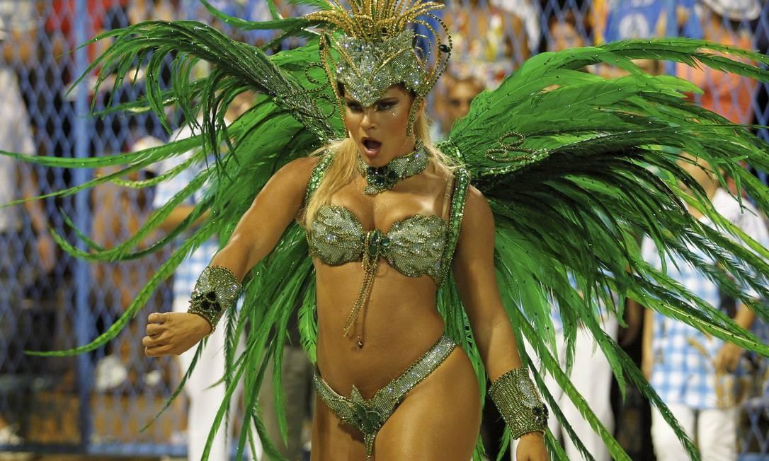 Bianca Salgueiro é destaque da Vila Isabel Bruno DGonzalez / Extra/Agência O Globo