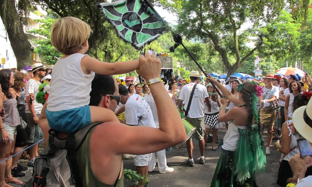 RI Exclusivo Rio de Janeiro (RJ) 12/02/2013 Carnaval 2013 - Desfile bloco A Rocha, na Gávea. Foto Tomás Petersen Foto: Tomás Petersen / Agência O Globo
