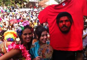 Fantasia da camisa do Che Guevara Foto: Do leitor - Alexandre Pimenta