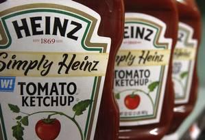 Ketchup Heinz: irregularidade foi detectada por exame microscópico em amostras compradas em supermercado de São Bernardo do Campo Foto: Toby Talbot / AP