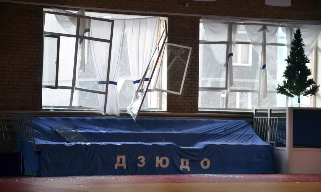 De acordo com autoridades, a maior parte dos feridos teve arranhões leves Foto: STRINGER / REUTERS