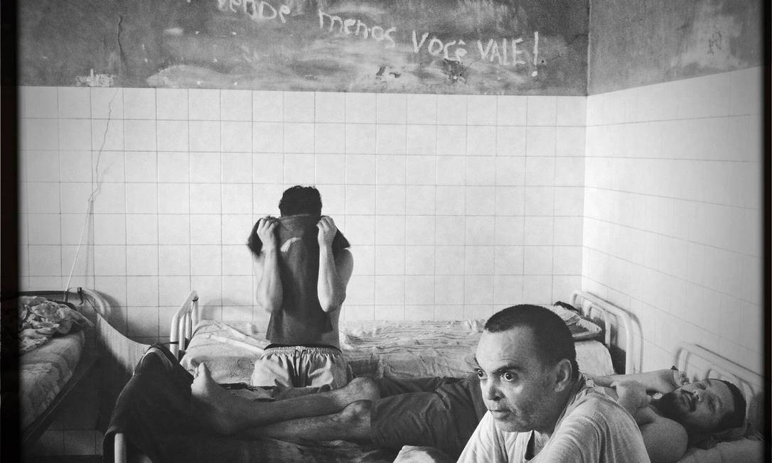 Hospital Penitenciário Valter Alencar, em Teresina Foto: André Coelho / O Globo