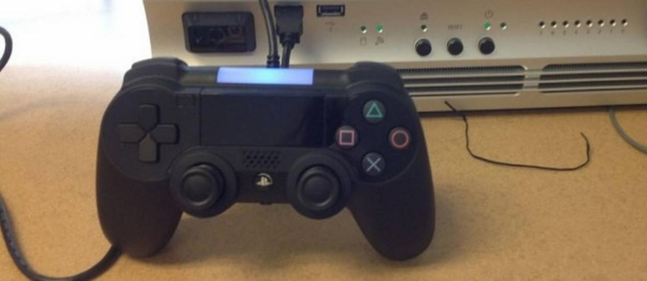 """Sony marcou para 20 de fevereiro evento misterioso sobre """"o futuro"""" do PlayStation em que, segundo jornal, irá apresentar a 4ª geração do console Foto: Reprodução"""