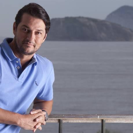 Marcelo Serrado está se preparando para rodar três filmes, entre eles um longa centrado no personagem Crô, da novela Fina Estampa Foto: Ana Branco / Agência O Globo