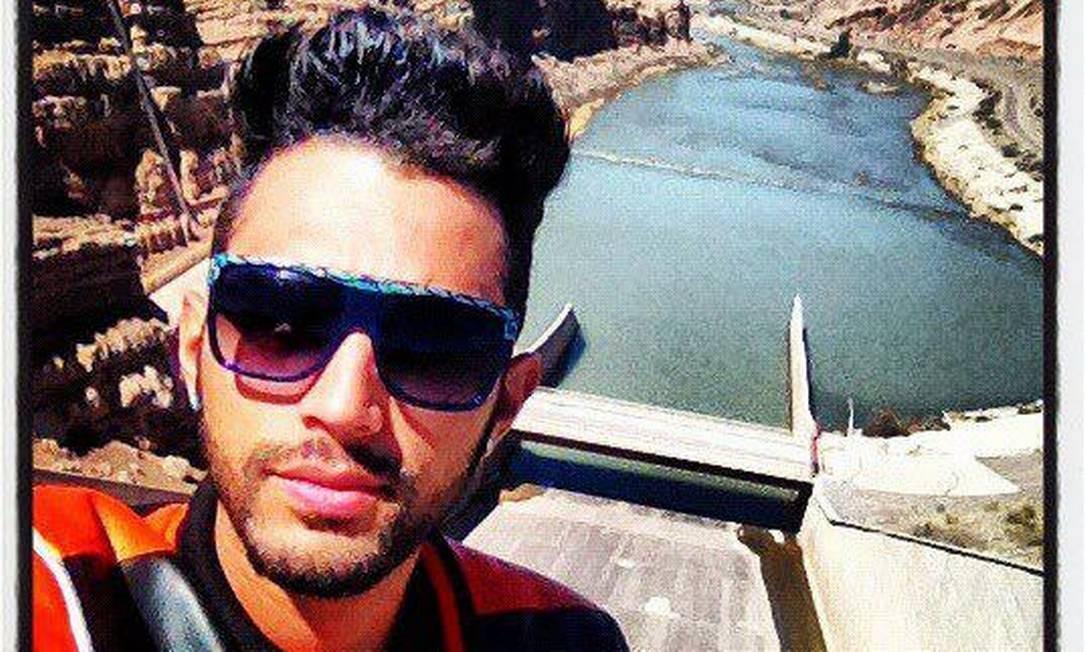 O cineasta Cadu Barcellos, desaparecido desde sexta-feira Foto: Reprodução da internet