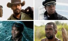"""""""Django livre"""",""""Indomável sonhadora"""", """"O vôo"""" e """"Lincoln"""" estão na disputa este ano Foto: Reprodução"""