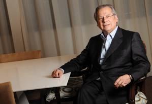 José Dirceu disse que vai se despedir de Chávez de casa Foto: Daniel Wainstein/Valor