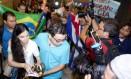 Blogueira cubana Yoani Sánchez é recebido pelo documentarista Dado Galvão Foto: Agência O Globo