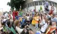 Desfile do bloco Escravos da Mauá no carnaval 2013 Foto: Publius Vergilius