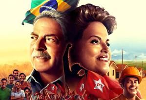 Lula e Dilma ilustram cartilha Foto: Reprodução