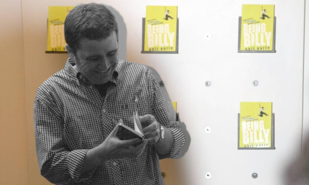 Phil Earle, autor do badalado 'Being Billy' Foto: Divulgação