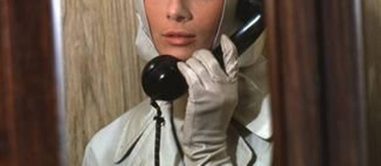 Audrey Hepburn em cena de 'Charada' Foto: Divulgação/IMDB