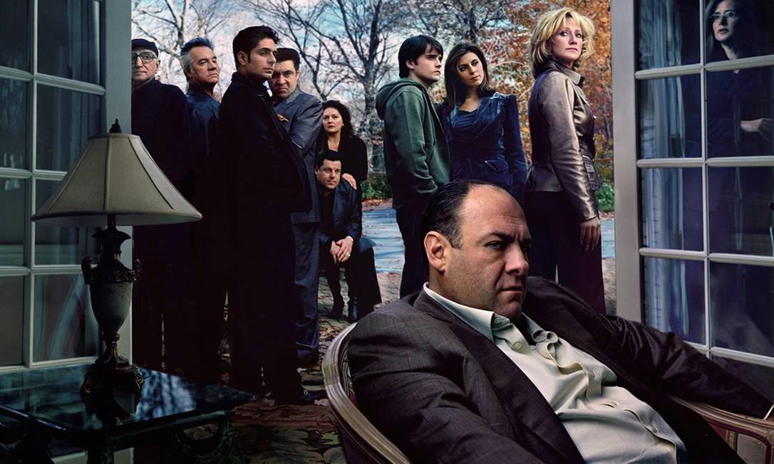 Cena da 'Família Soprano', da HBO Foto: Divulgação