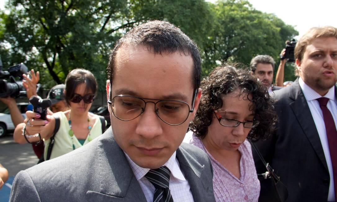 Ex-seminarista Gil Rugai foi condenado a 33 anos de prisão pelo assassinato do pai e da madrasta Foto: Frame / Diogo Moreira