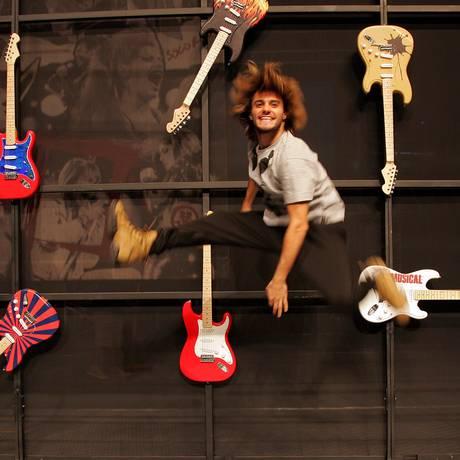 """Talento. Hugo Bonemer é o protagonista de """"Rock in Rio — O musical"""" Foto: Freelancer / Pedro Teixeira"""
