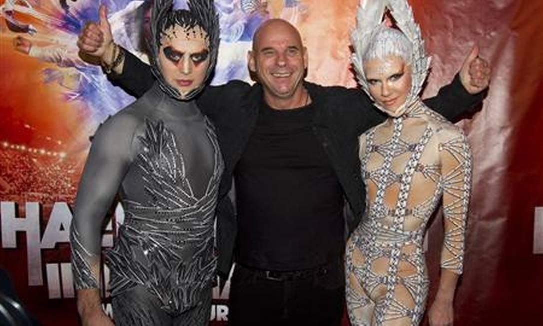 """Elenco do Cirque du Soleil durante o espetáculo """"The Immortal World Tour"""" (2011) / Foto: Reuters"""