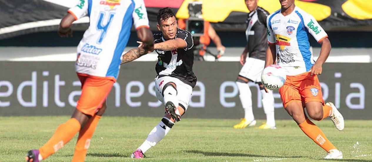 Bernardo marcou os dois gols do Vasco na partida Foto: Divulgação / Vasco