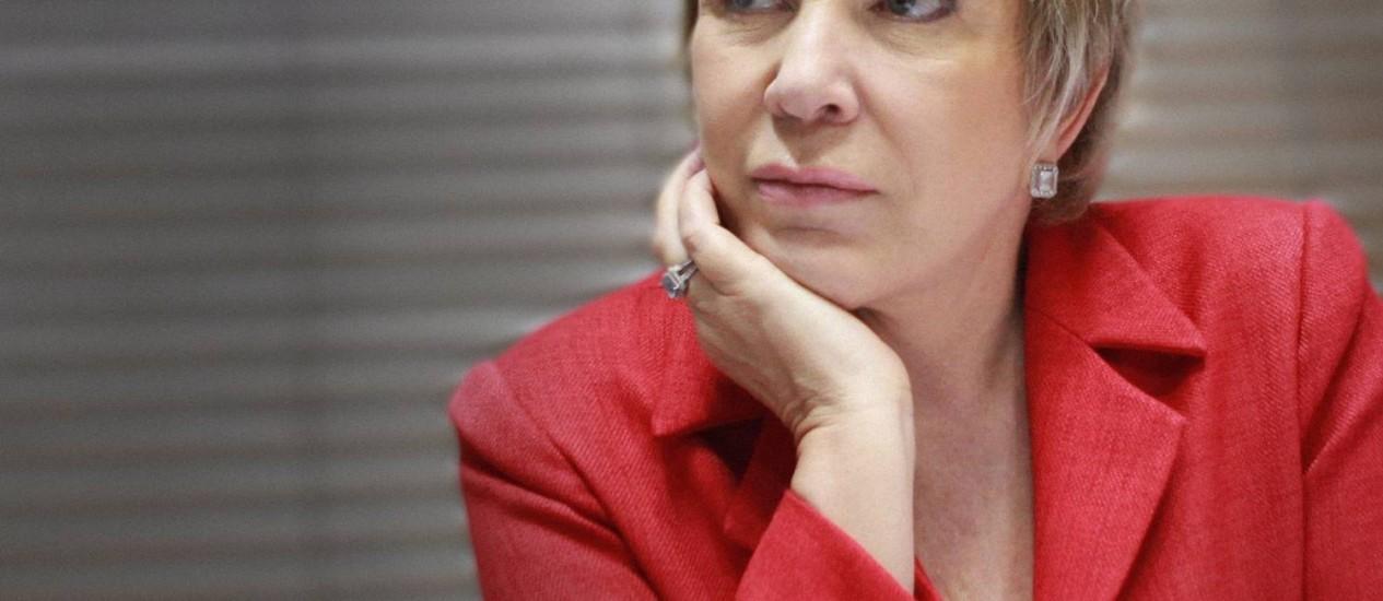 A ministra da Cultura, Marta Suplicy, acredita que o vale-cultura vai beneficiar cerca de 18,8 milhões de brasileiros que ganham até cinco salários mínimos Foto: Ailton de Freitas/08-11/2012 / Agência O Globo