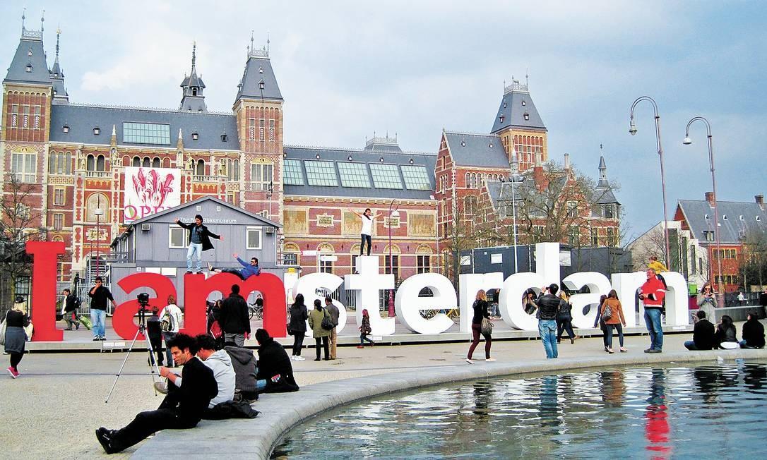 O resultado da longa reforma do Rijksmuseum será conhecido em abril Foto: Fernanda Dutra / O Globo