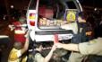 Veículo trazia escondido cinquenta quilos de pasta de cocaína