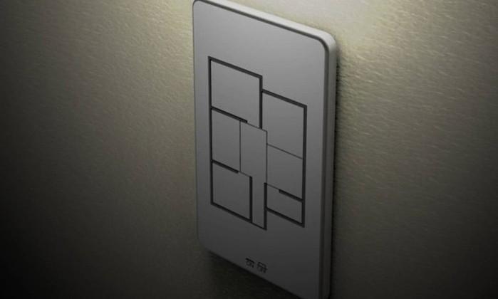 Você fica com preguiça de apagar todas as luzes da casa quando vai sair ou dormir? Pois o designer Taewon Hwang criou um interruptor que faz esse trabalho para você. Ele permite que todas as luzes sejam desligadas apertando-se um único botão Reprodução internet