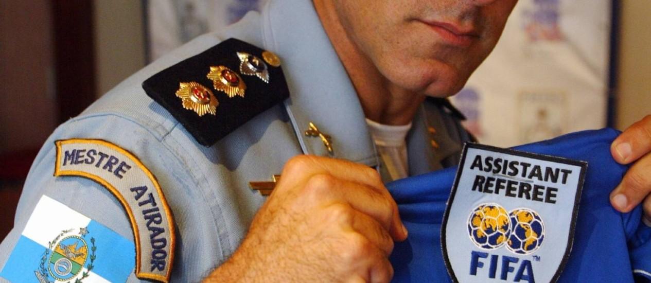 Aristeu Leonardo Tavares comandou a Comissão de Arbritragem por apenas sete meses Foto: Jorge William/08-05-2006 / O Globo