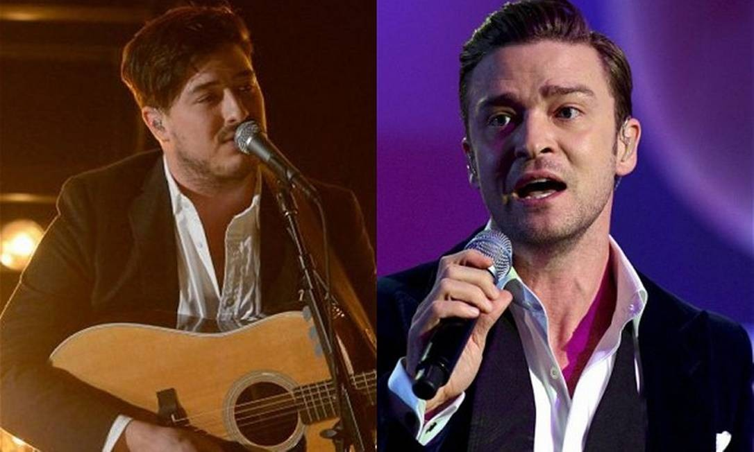 Marcus Mumford e Justin Timberlake vão compor a trilha do novo filme dos irmãos Coen Foto: Reprodução