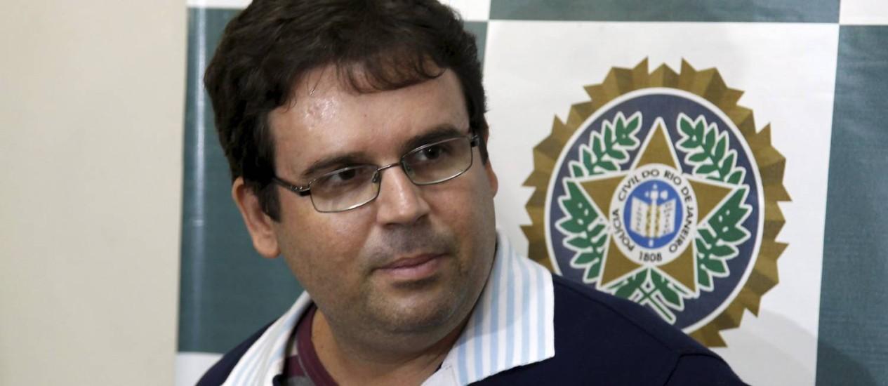 Ex-bombeiro Alessandro Rufino Oliveira Carvalho, acusado de assassinar turista americana no Rio Foto: Gabriel de Paiva / O Globo
